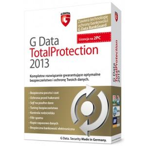 G Data TotalProtection 2013 na 2 PC