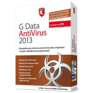 G Data AntiVirus 2013 na 2 PC