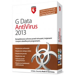 G Data AntiVirus 2013 na 1 PC