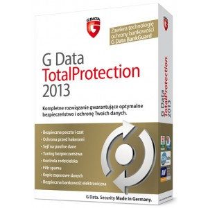 G Data TotalProtection 2013 na 1 PC