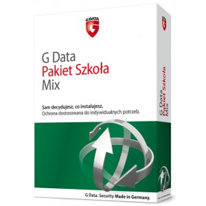 G Data Pakiet Szkoła MIX do 50 PC