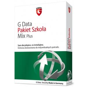 G Data Pakiet Szkoła MIX PLUS do 100 PC