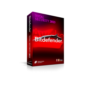 Bitdefender Total Security 2013 na 1 PC