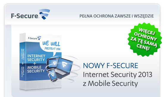 Nowy program antywirus F-Secure